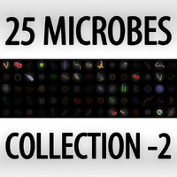 Collection of 25 microbes - set 2