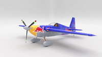 3d model zivko edge 540 plane