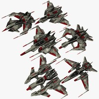 3d 6 dark fighters model