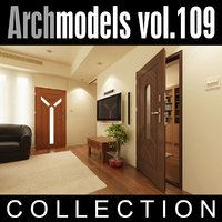 maya archmodels vol 109 doors