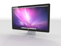 apple displey 27 monitor 3d max