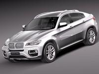 3d bmw x6 m 2013 model