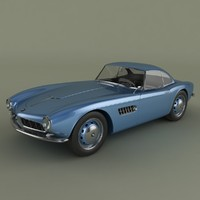 bmw 507 coupe 3ds