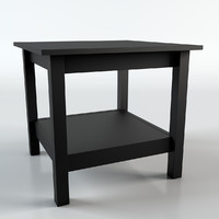 ikea hemnes table 3d c4d