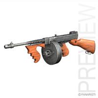 Thompson Model 1928 Submachine Gun