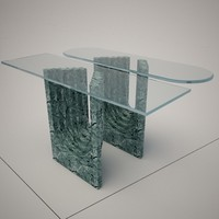3dsmax cattelan italia naxos console table
