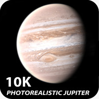 10K Photorealistic Jupiter