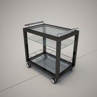 Cattelan Italia Profil Bar Trolley