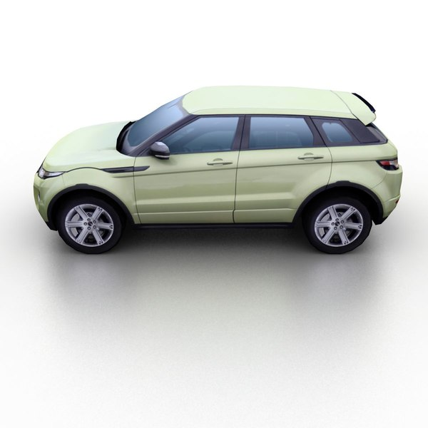 3d model 2012 range rover evoque - Range Rover Evoque 2012... by TAURUS_X