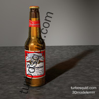 Budweiser beer bottle