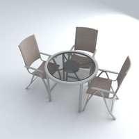 set furniture 9 3d model