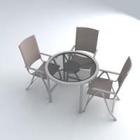 set furniture 9 3d model
