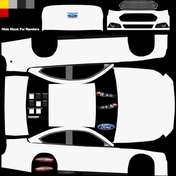 The gallery for nascar template for Blank race car templates