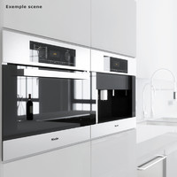 Miele oven & coffee maker