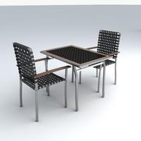 3ds max set furniture