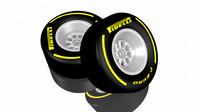 pirelli formula 1 wheel 3d model