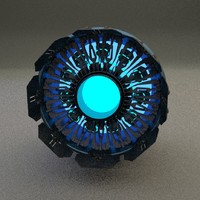 scifi stardrive 3d blend