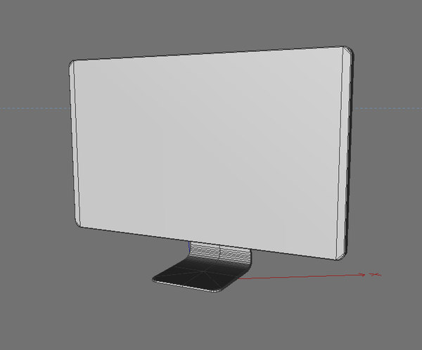 apple displey 27 monitor 3d max - Apple Cinema Displey 27 (action - 9.99!!)... by TeRmiXX