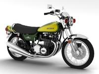 kawasaki z1 900 1972 3d 3ds