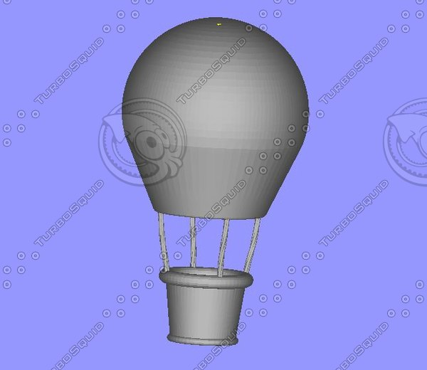 3ds max mongolfiere hot-air balloon - hot-air balloon... by Salvatore Imperio