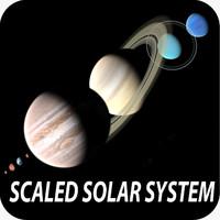 3d planets solar