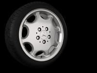 3ds max tire
