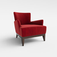 3d opera 168au lounge armchair model