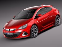 opel astra opc 2013 3ds