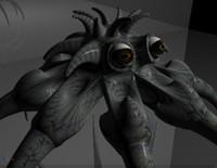 octopus timoer 3d model