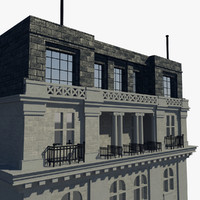 yangtsze insurance association building 3d model