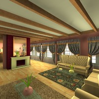 3ds max interior home