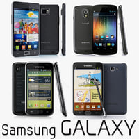 Samsung galaxy collection smartphones