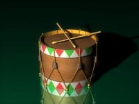 cinema4d mexican drum
