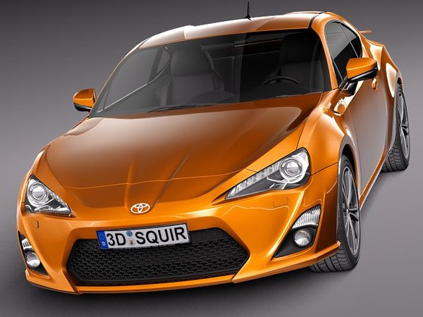 subaru 2013 sport coupe 3d lwo - Toyota GT 86 2013... by squir