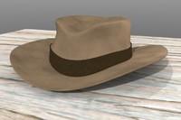 3d cowboy hat felt