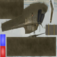 heli copter helicopter 3ds free