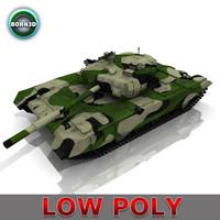 russian t90 tank 3d obj