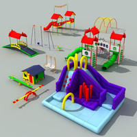playground play ground 3d max