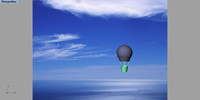 3ds max mongolfiere hot-air balloon