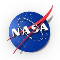 nasa logo 3d model