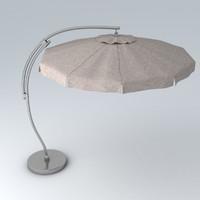 3d max umbrella materials