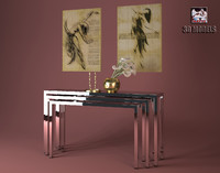 visionnaire paintings 3d model