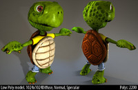 turtle comic 3d 3ds