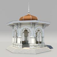 Park Pavilion Textured