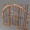 prison bars 3D models