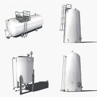 storage tanks collection
