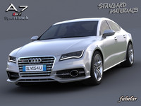 audi a7 s7 sportback c4d