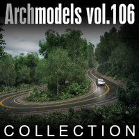 3d archmodels vol 106 trees