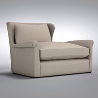 Restoration Hardware - Belgian Wingback Upholstered Chair