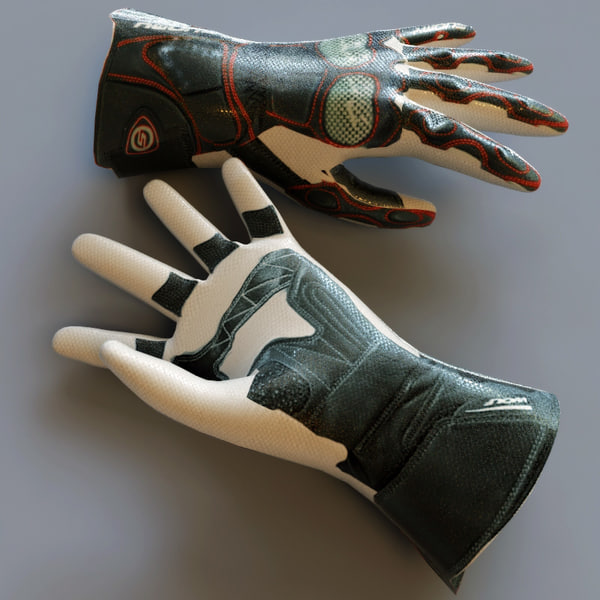 gloves v4 max - Gloves Collection V4... by 3d_molier